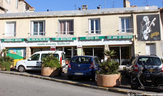 Epicerie / Restaurant – Les amis de George – 13005