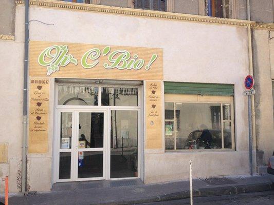 Epicerie/Restaurant – Oh C'Bio – 13016