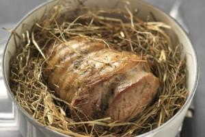 Recette – Selle d'Agneau au foin