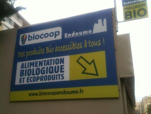 Epicerie Bio – Biocoop Endoume – 13007