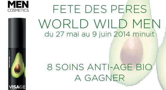 Concours Fête des Pères avec World Wild Men Cosmetics