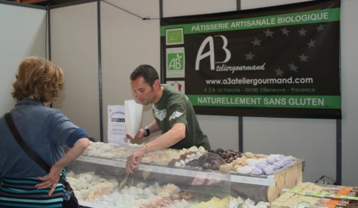 Patisserie biologique a3 atelier gourmand for Salon bio nimes