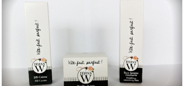 Concours maquillage BIO « Miss W » à gagner