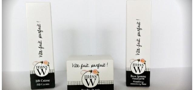 Résultats concours maquillage Bio «Miss W»