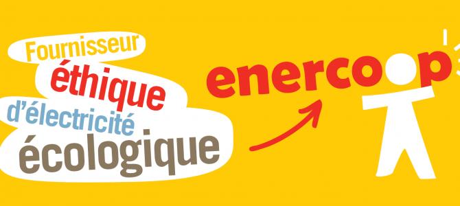 ENERCOOP PACA : Fournisseur éthique d'électricité écologique