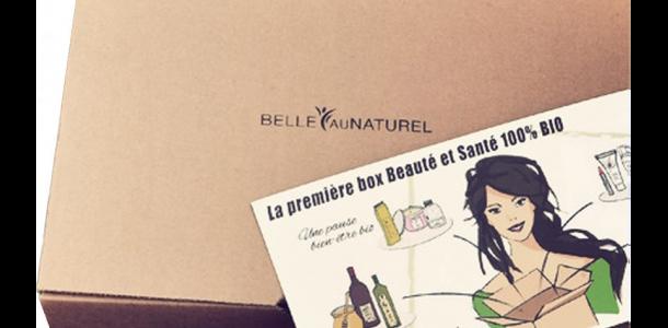 Belleaunaturel.fr : la 1ère BOX Beauté et Santé 100% BIO