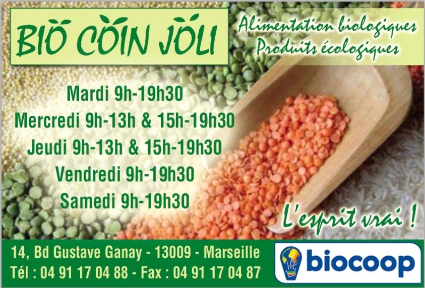 Epicerie – Bio coin joli – 13009