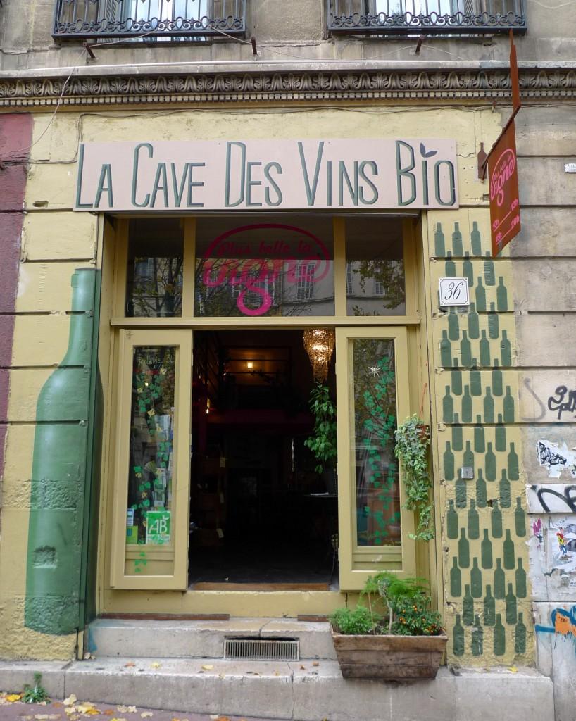Cave à vins Bio – Si belle la Vigne – 13006