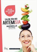 Salon Zen&Bio ARTEMISIA à Marseille du 23 au 25 octobre 2015