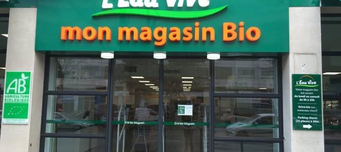 Epicerie BIO – L'Eau Vive : Le plus grand espace Bio de Marseille – 13008